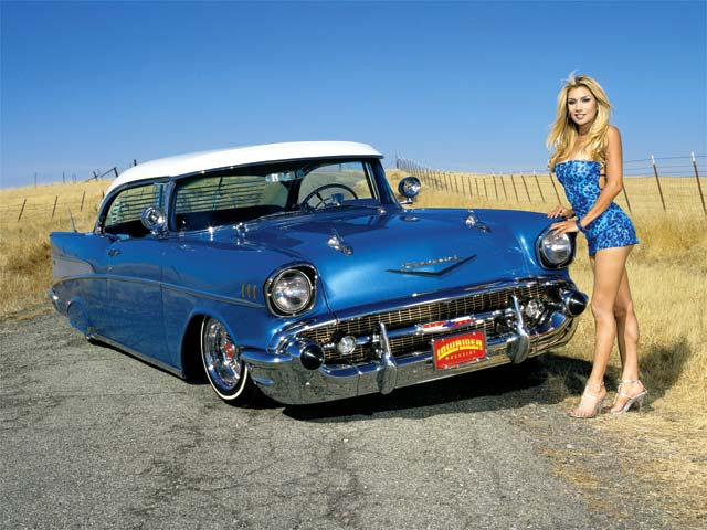 1957 Chevrolet Bel Air Heaven Sent Lowrider Magazine