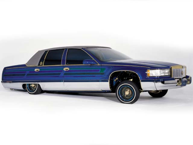 1993 Cadillac Fleetwood Cadistrophic--Lowrider Magazine