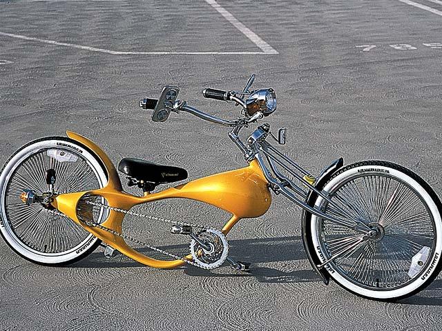 Custom lowrider bicycles