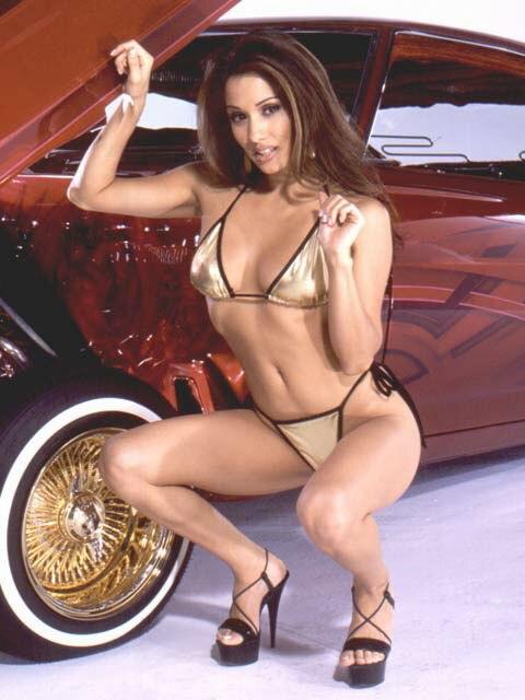 Lowrider Model Yvette Lopez Nov 2002 Lowrider Magazine