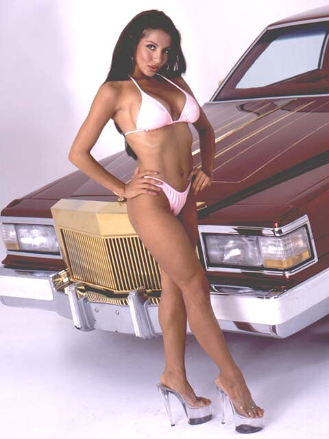 Car That Runs On Air >> Lowrider Model - Candice Cardenelle - Feb 2003 - Lowrider magazine
