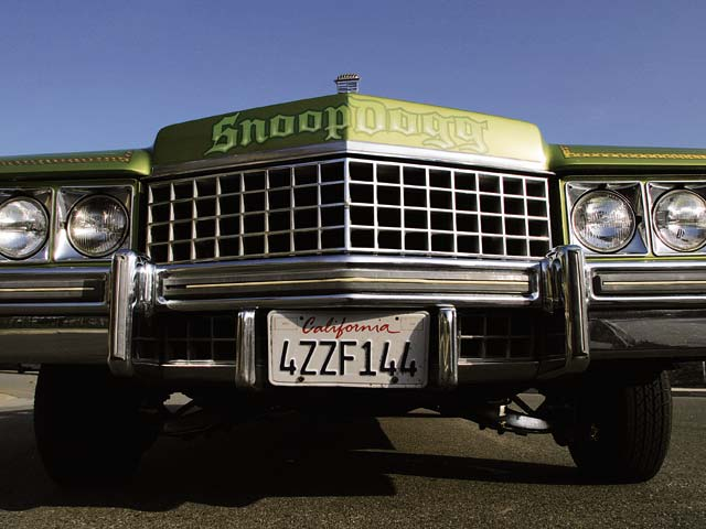 Z Cadillac Snoop Deville Front View