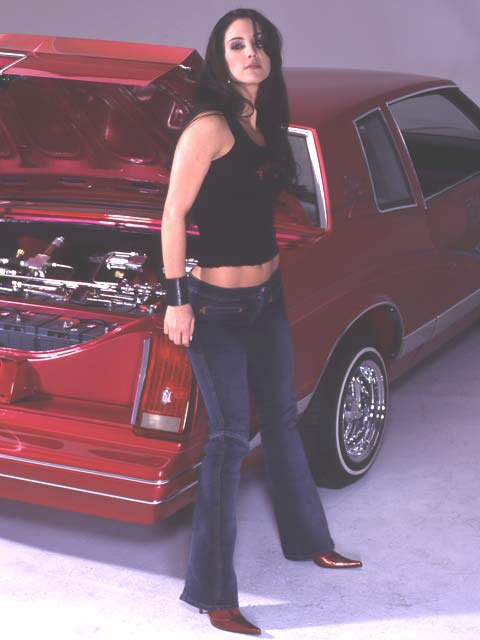 Lowrider Model - Staci Flood - April 2004 - Lowrider Magazine