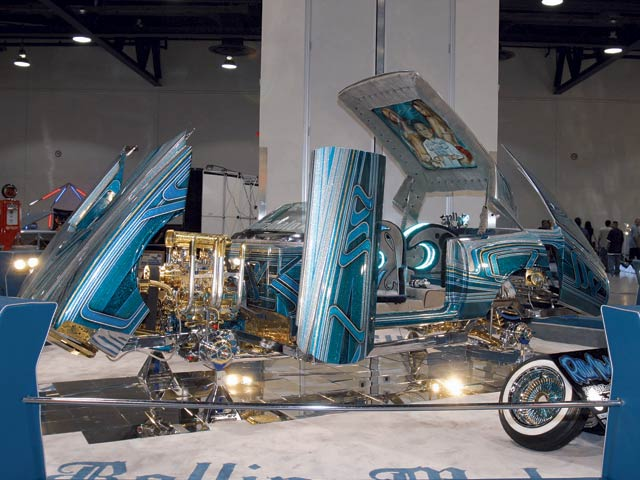 "All hail the king! The Lowrider Car of the Year is Favian's ""Rollin' Malo"" from Rollerz Only C.C."