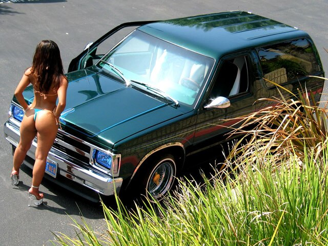 1986 Chevrolet Blazer Lowrider Magazine Green With Envy