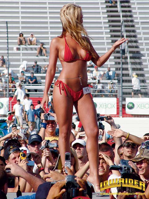 car shows bikini contest