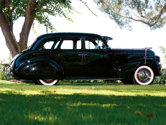 1940 Chevrolet Master 85 Sedan- Elegant '40- Lowrider Magazine