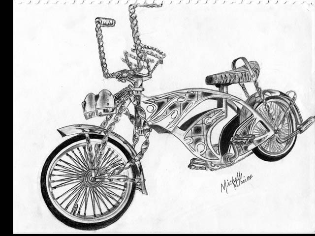 Image Result For Lowrider Bike Coloring Pages