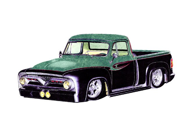 Readers Drawing Color Art Lowrider Arte