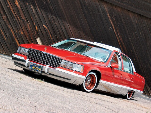 1994 cadillac fleetwood hate it or love it feature lowrider. Cars Review. Best American Auto & Cars Review