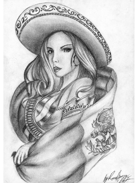 naked lowrider girls drawings
