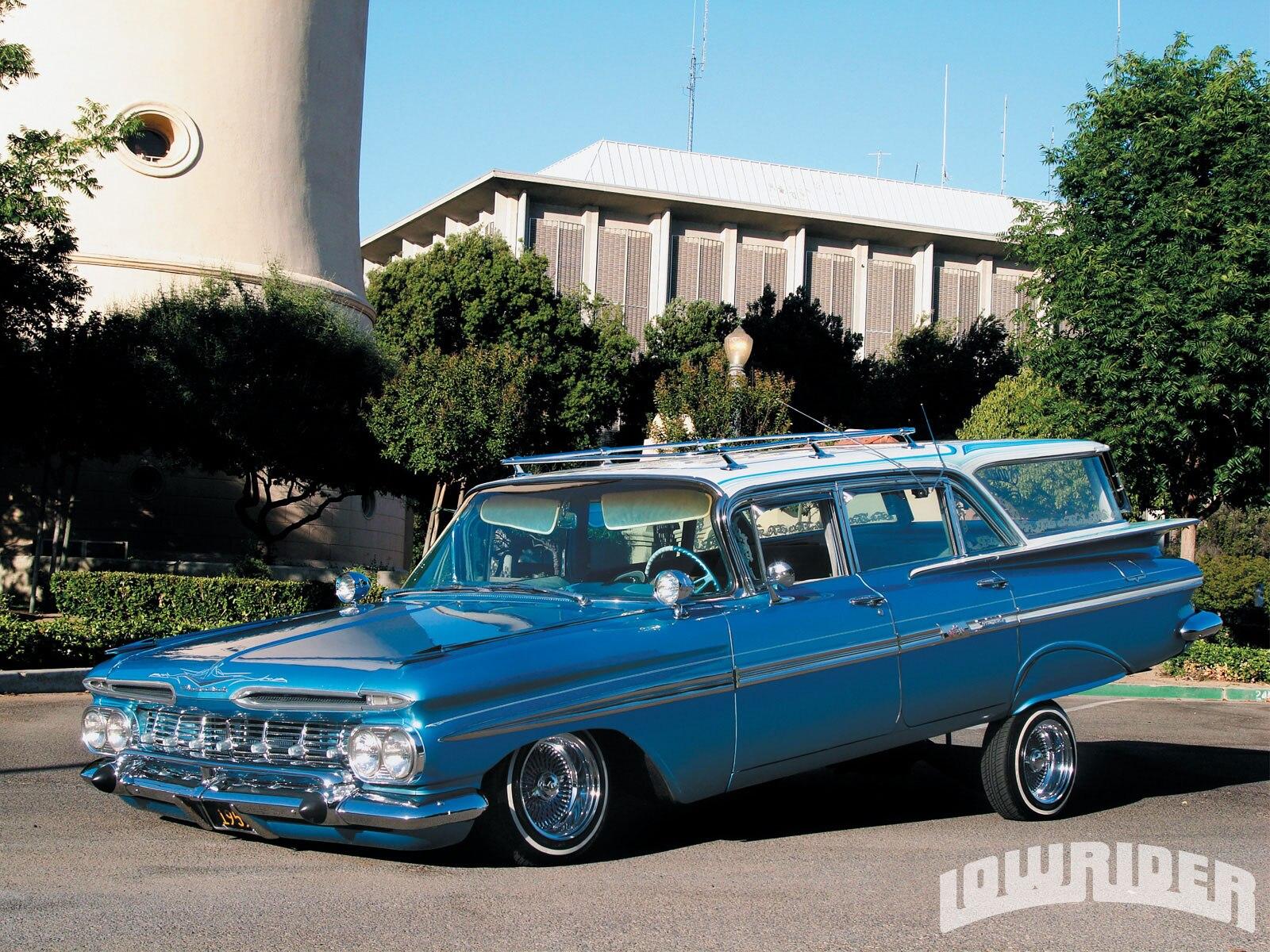 1959 Chevrolet Nomad Wagon - Lowrider Magazine