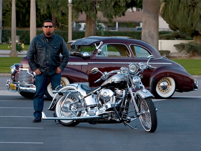 Lrmp Z Harley Davidson Heritage Softail With Owner on Harley Heritage Springer