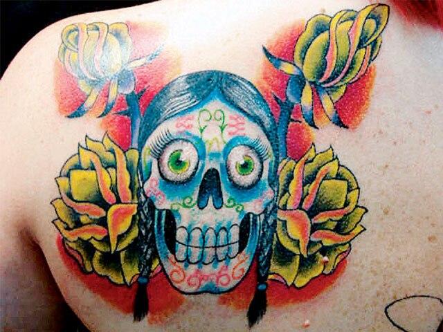 Daniel Fernandes Garage Ink<br> Mexico City, Mexico<br> www.myspace.com/tirando_tintaap<br> www.myspace.com/garageinkmx