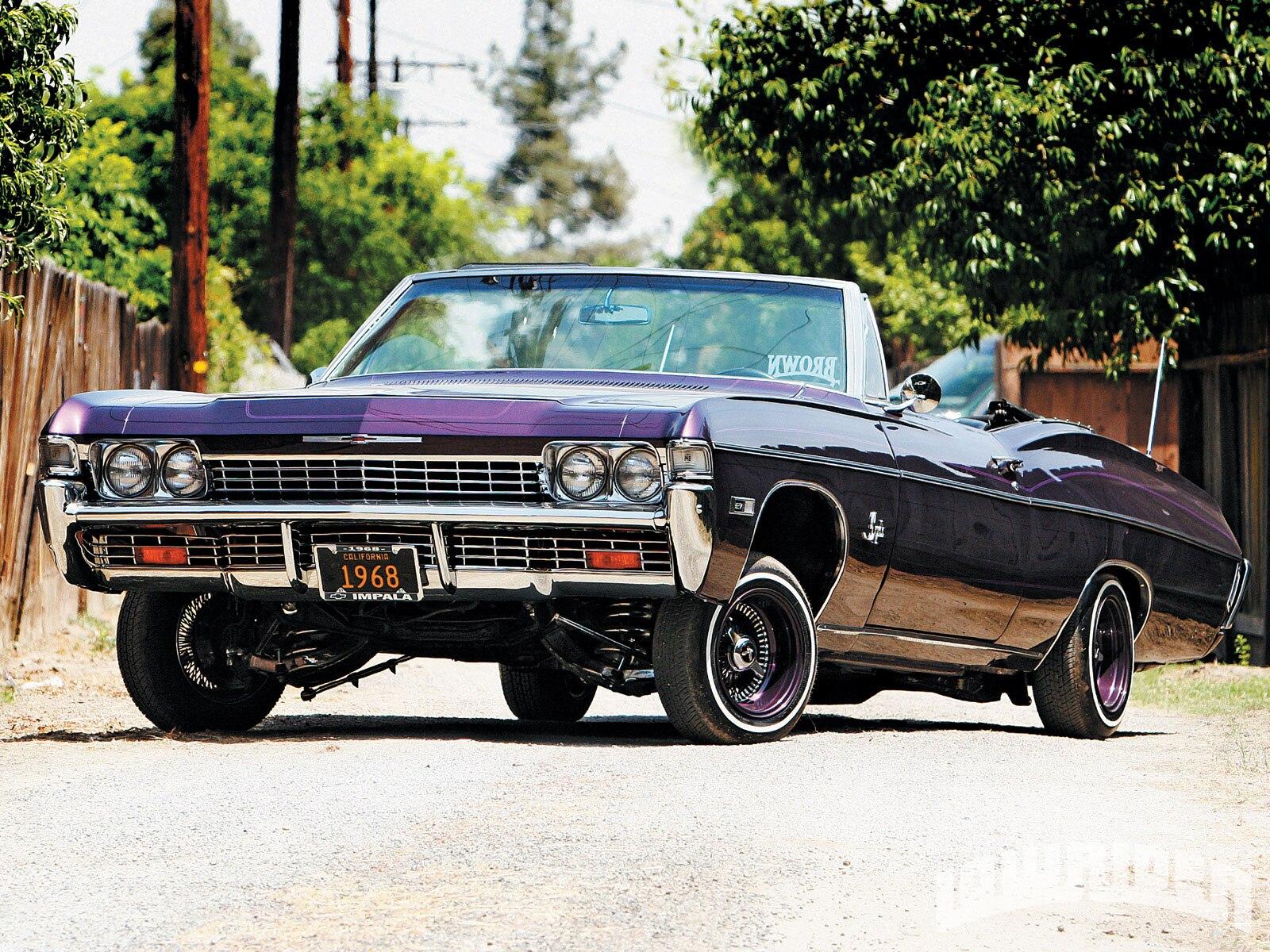 0812-lrmp-01-o-chevrolet-impala-convertible-plum-logo-front-fascia1