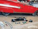 0906_lrmp_04_pl-1960_chevy_impala_unisteer_rack_and_pinion_steering-steering