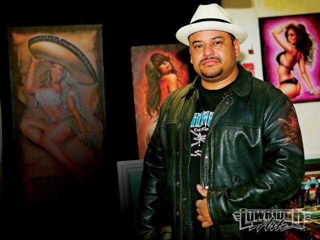 Lrap Z Airbrush Artist Rick Munoz With Art