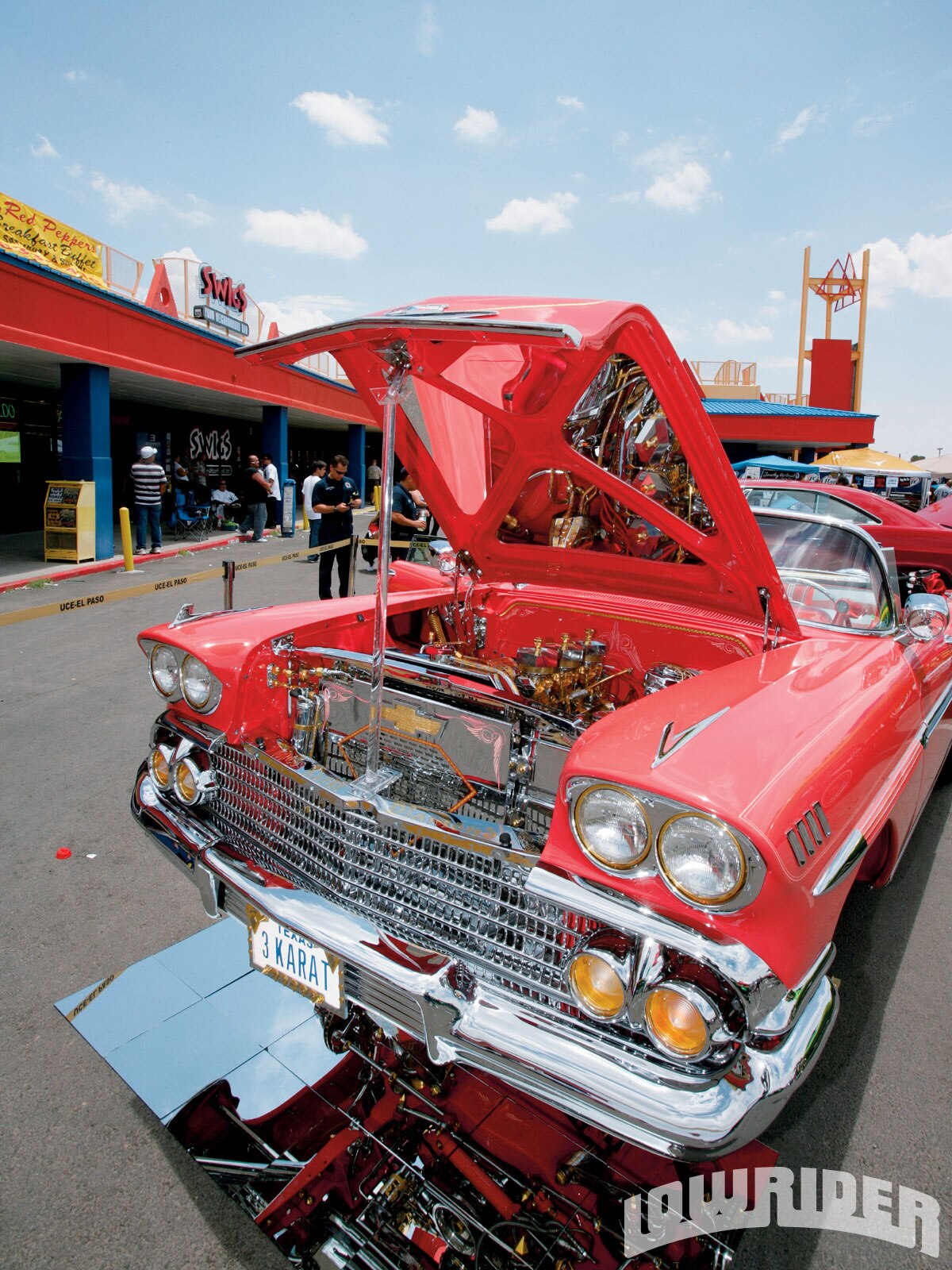 Faustino's '58 was on display for the community.