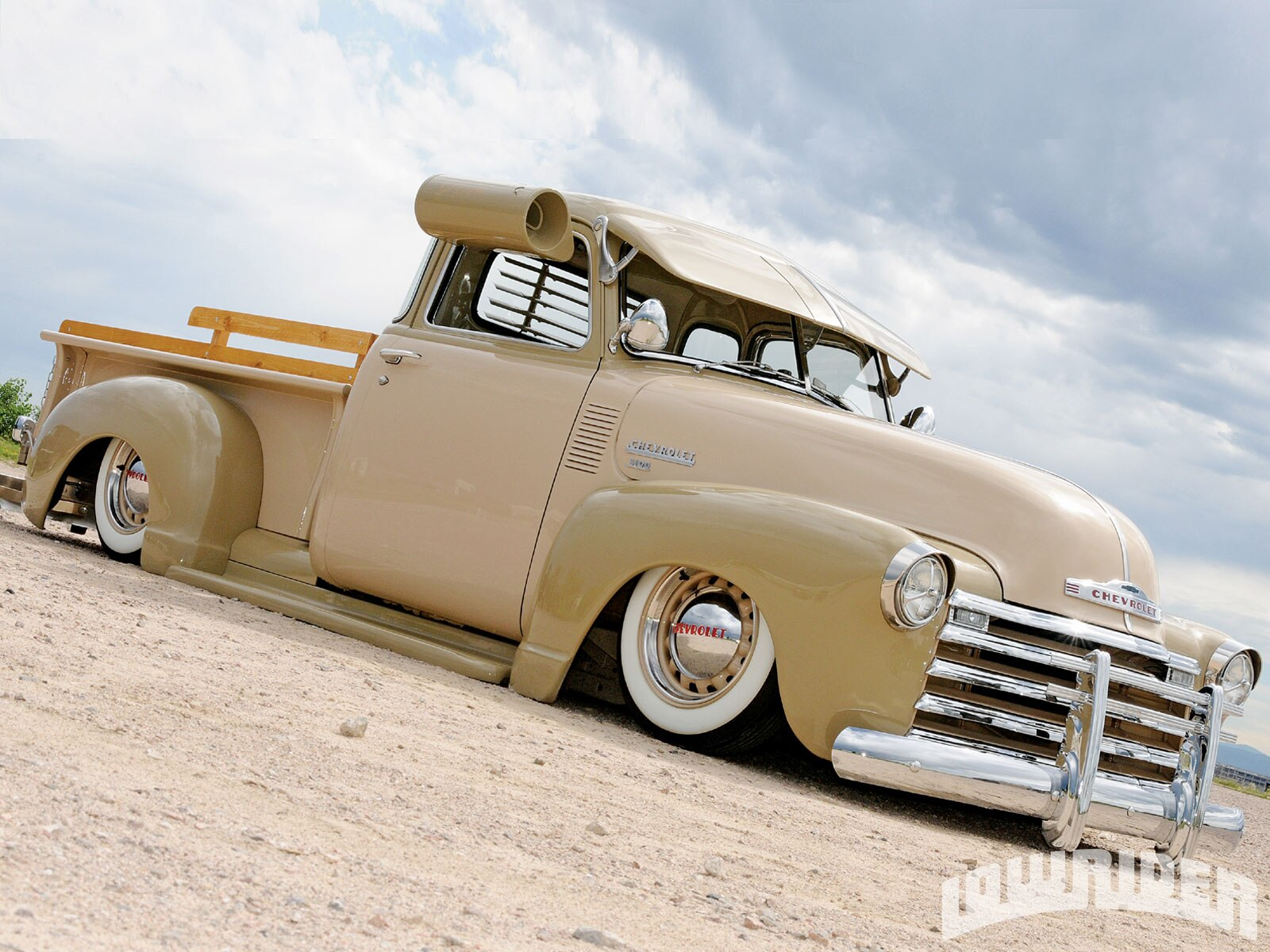 1949 Chevrolet 3100 Pickup & 1947 Fleetline Two Brothers Lowrider  #A06E2B
