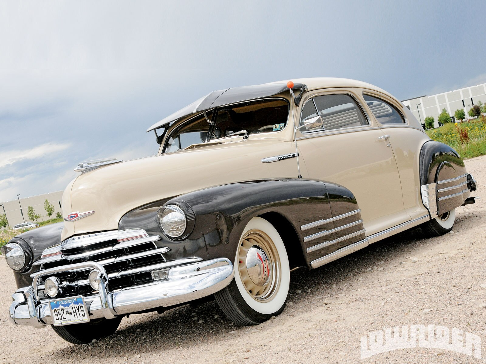 1949 Chevy Fleetline Lowrider Save Our Oceans Truck
