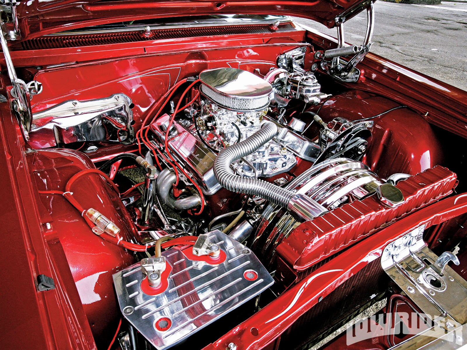 1964 Chevrolet Impala Pit Bull Four Pump Set Up