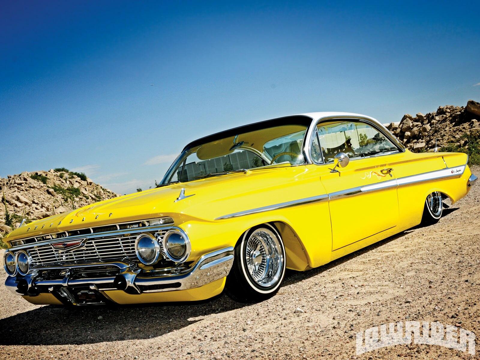 1961 chevrolet impala rebuilt v8 283 engine lowrider magazine. Black Bedroom Furniture Sets. Home Design Ideas