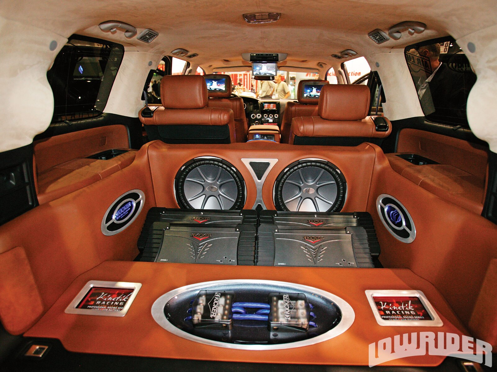 Custom Vehicle Speakers : Las vegas sema show lowrider magazine