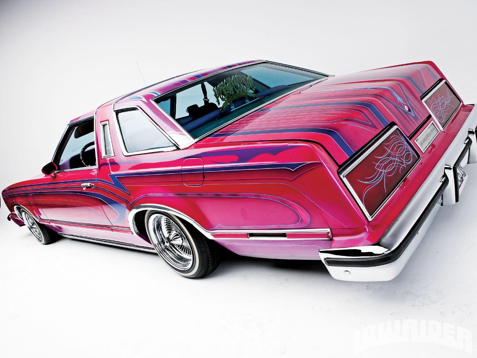 Lrmp O Ford Thunderbird Left Rear