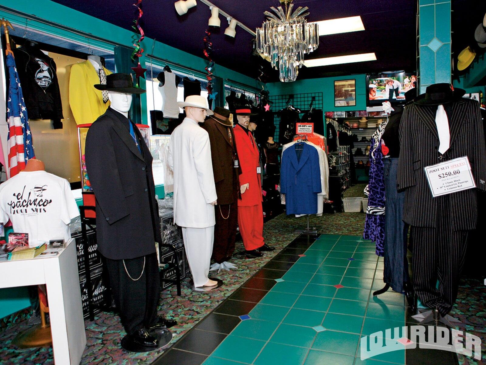 El Pachuco Zoot Suits - Lowrider Magazine