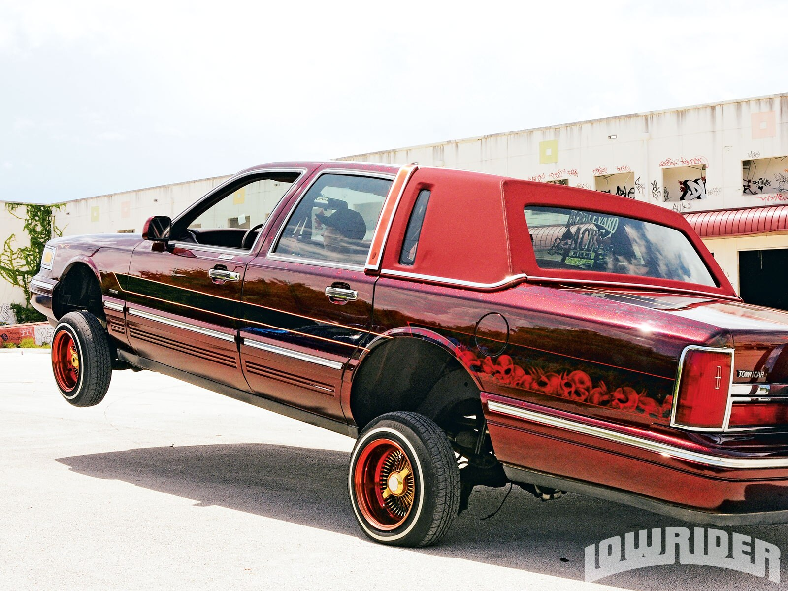 1996 Lincoln Town Car Lowrider Magazine