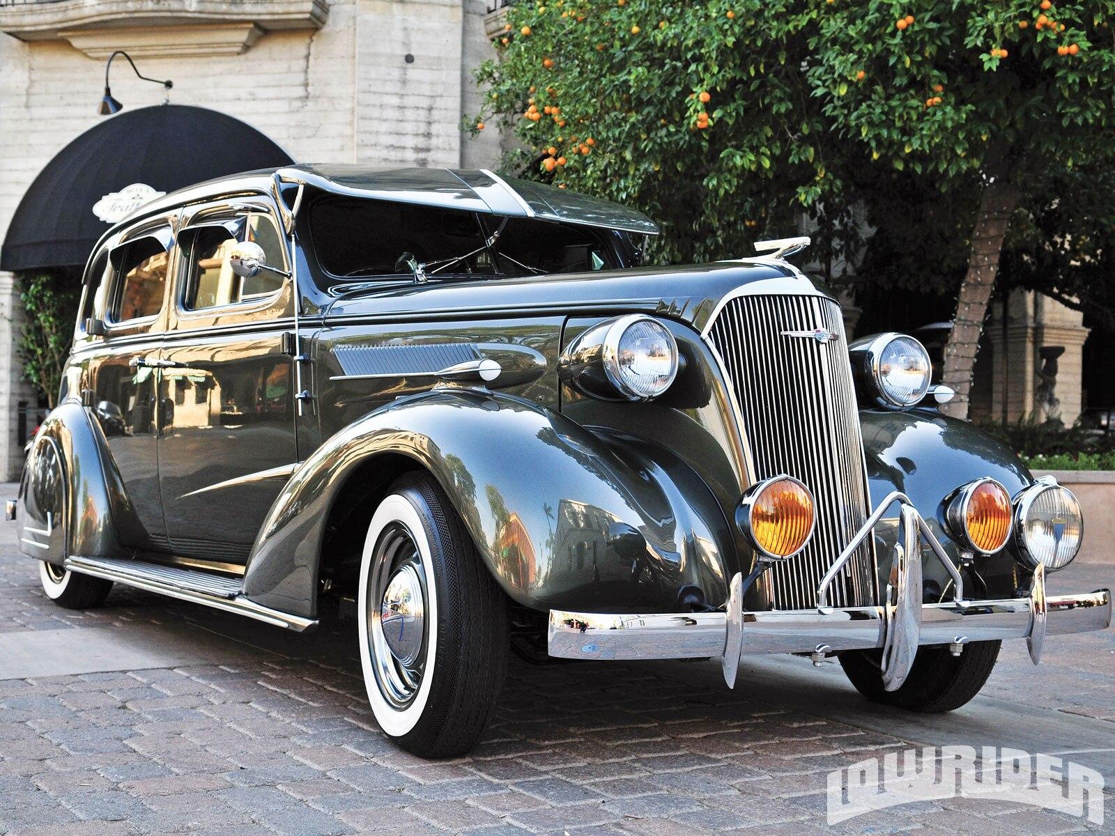 1937 Chevrolet Righthand Drive - Original Gangster - Lowrider Magazine