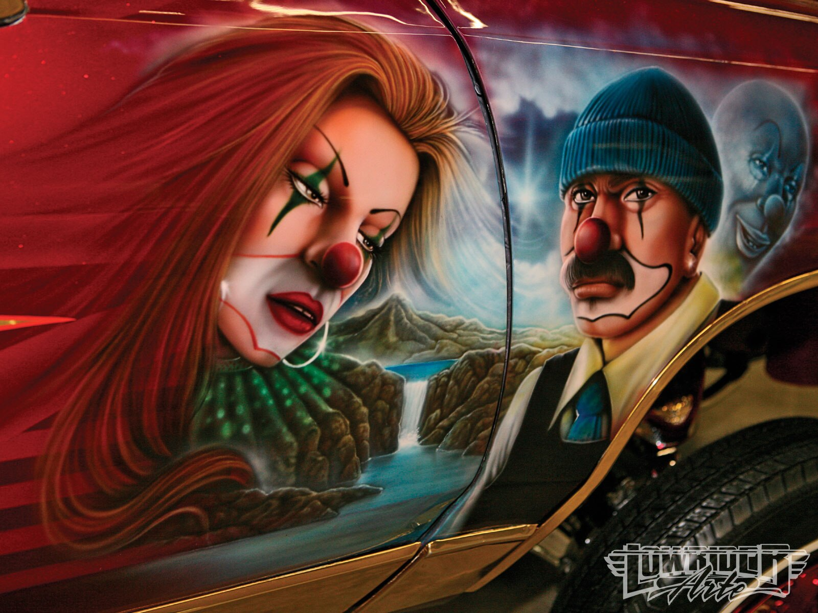 Lras O Clown Airbrush