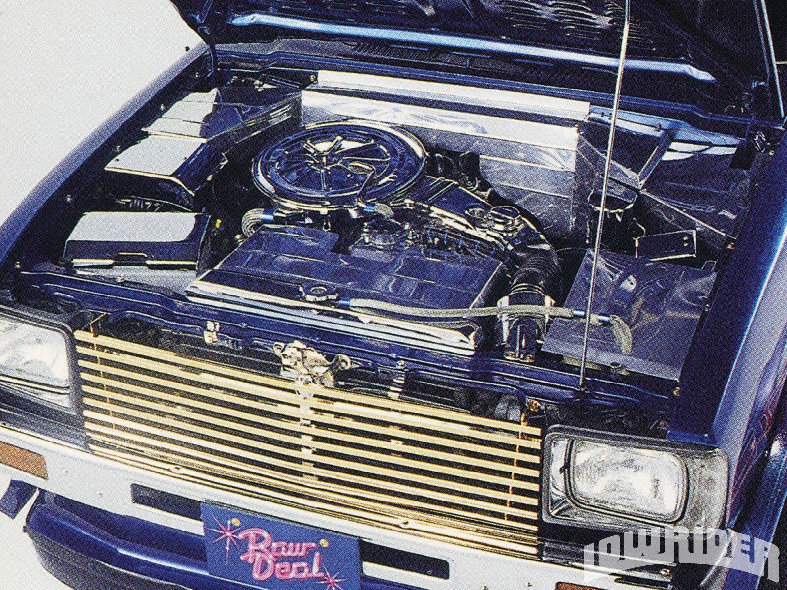 lrmp-1010-08-o-1989-toyota-sr5-truck-polished-engine-bay1