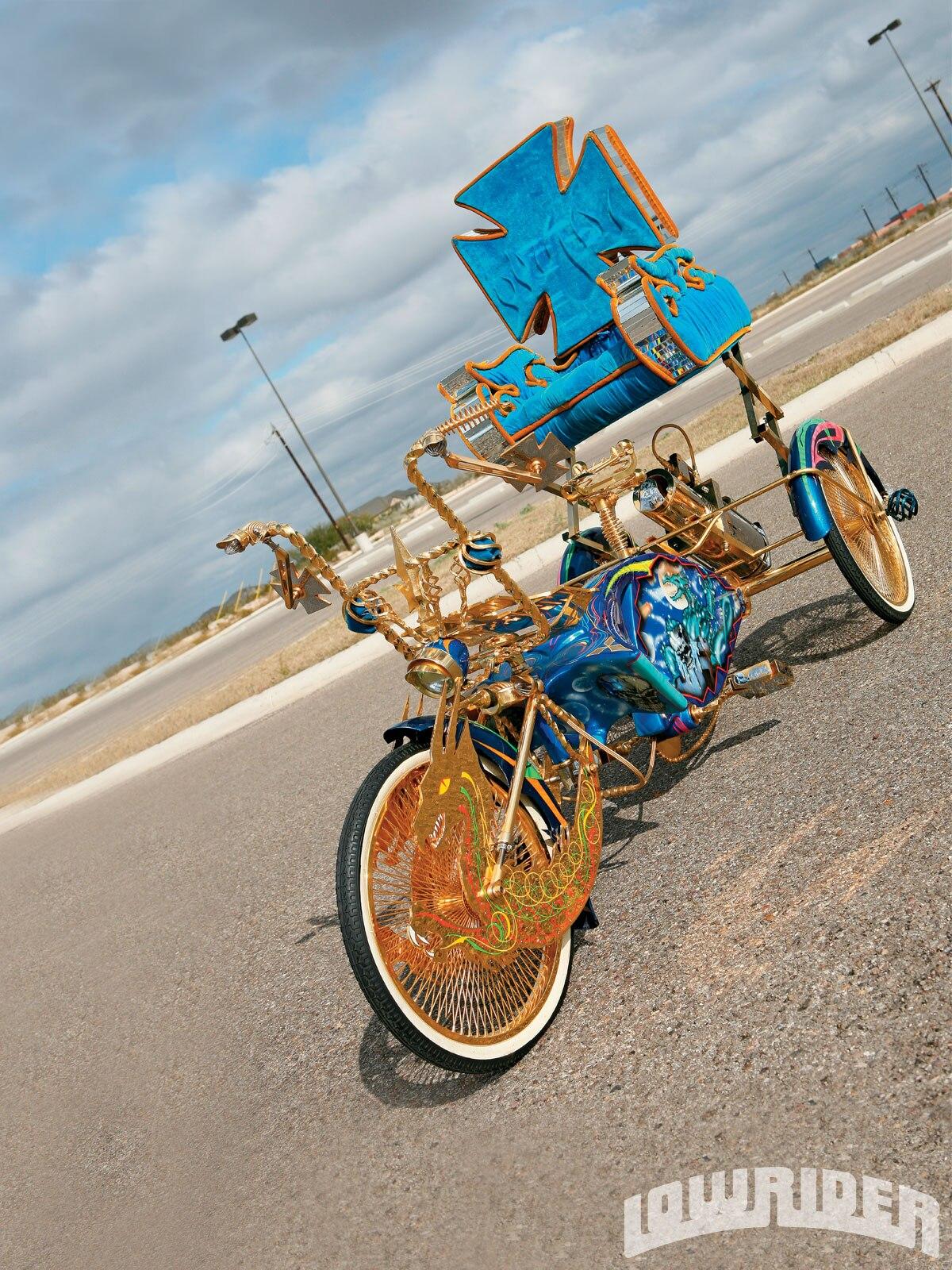 Custom Trike Dragon Fantasy Lowrider Magazine