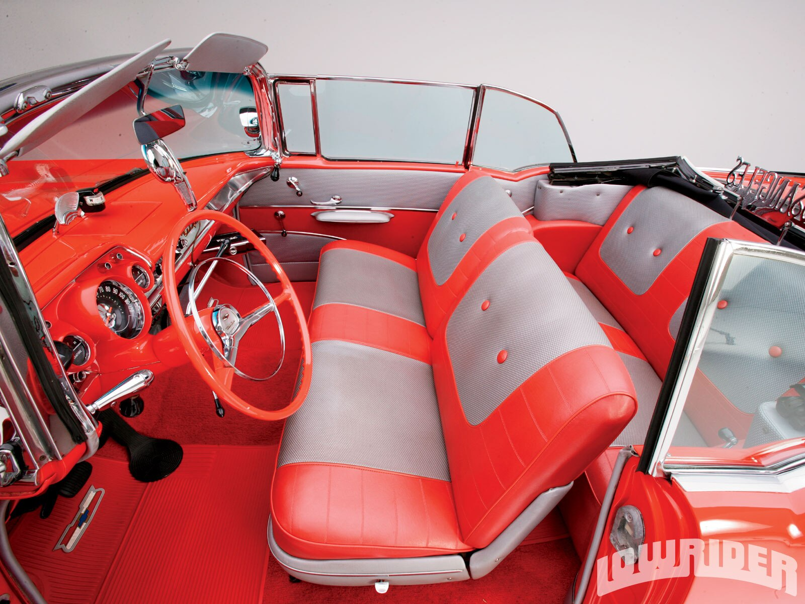 1957 Chevrolet Bel Air Convertible Lowrider Magazine