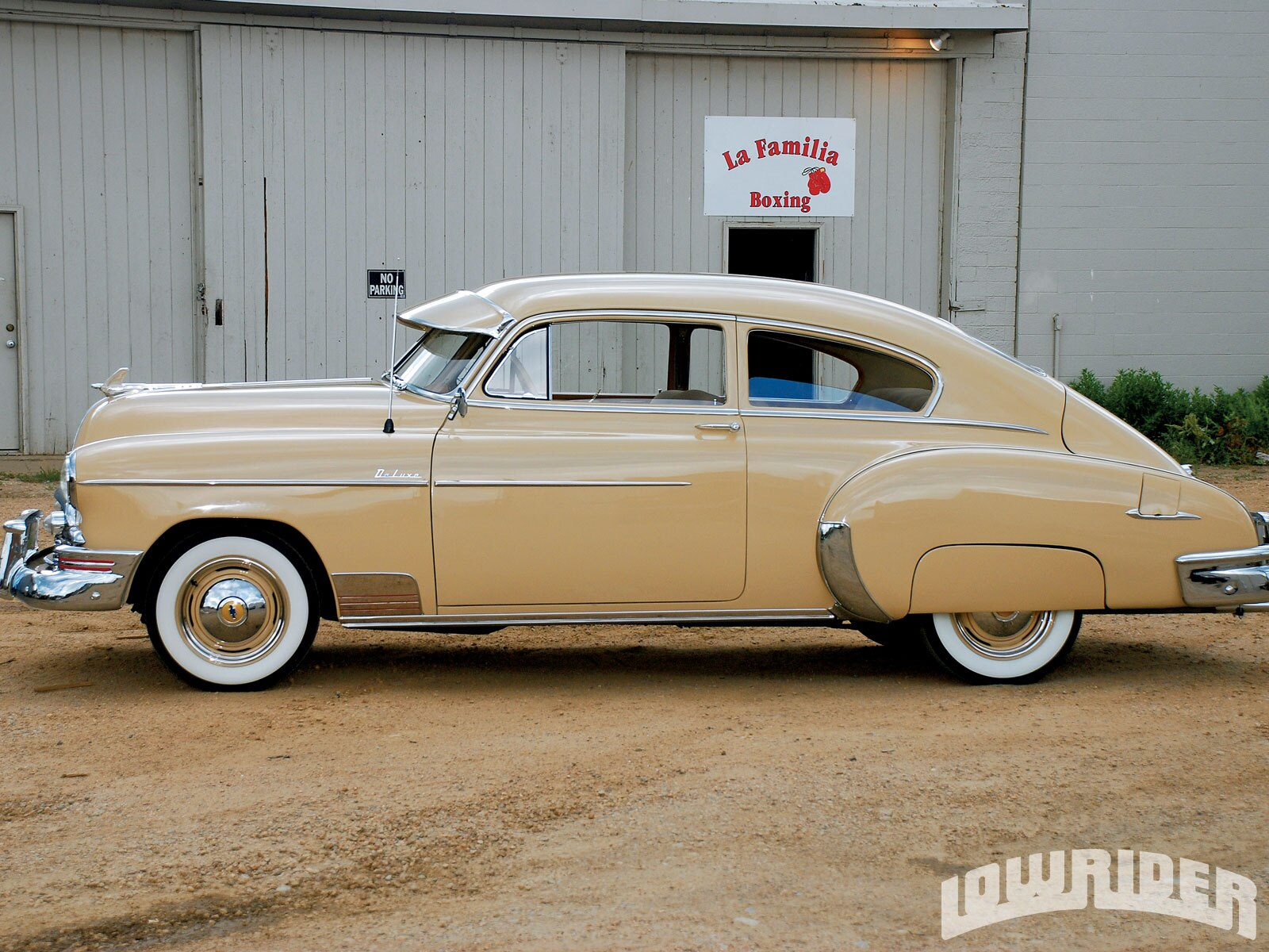 1950 Chevrolet Fleetline Deluxe Lowrirder Magazine
