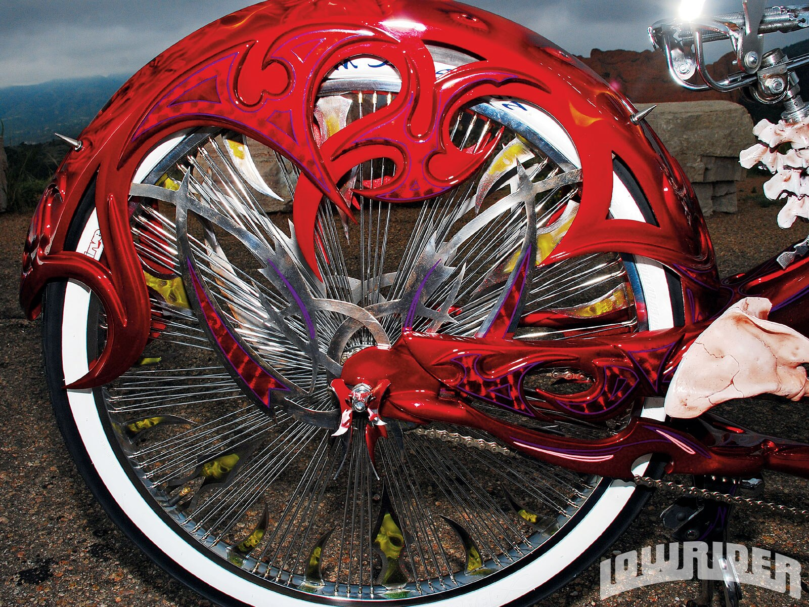 2008 Stretch Beach Cruiser - Lowrider Magazine