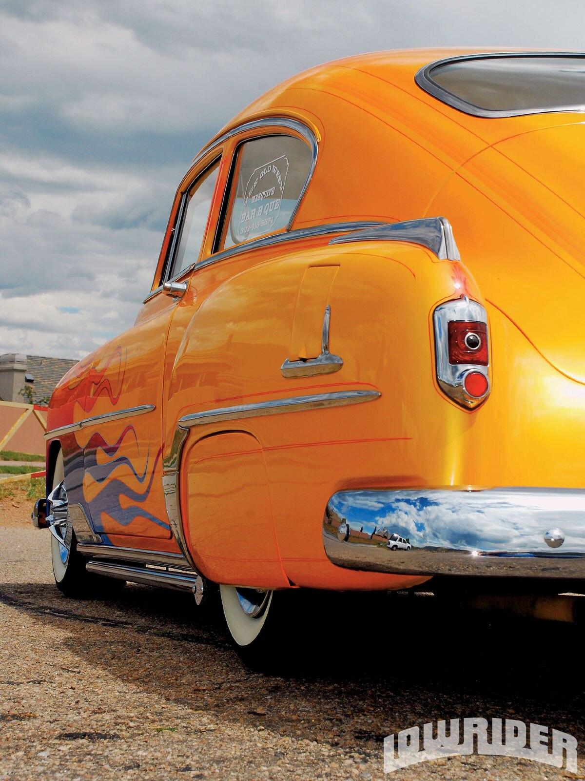 1952 Chevrolet Torpedo Fastback