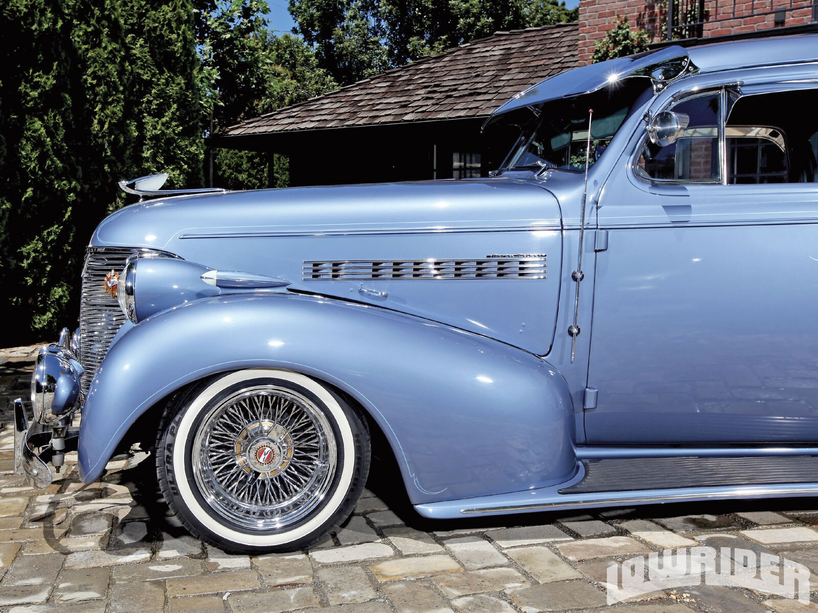 1939 Chevy Master Deluxe Lowrider Magazine View Image