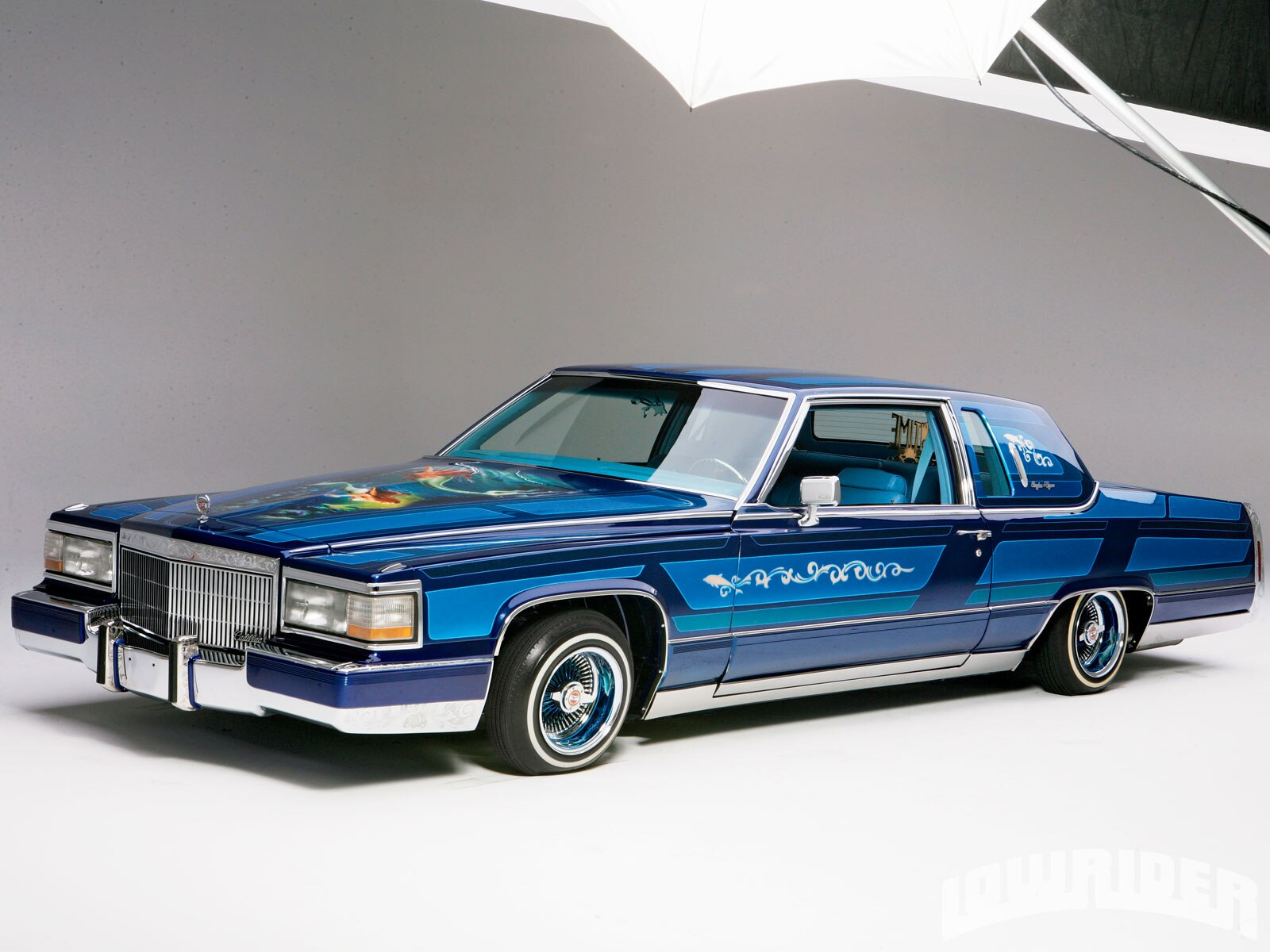 1984 Cadillac Fleetwood Brougham - Lowrider Magazine