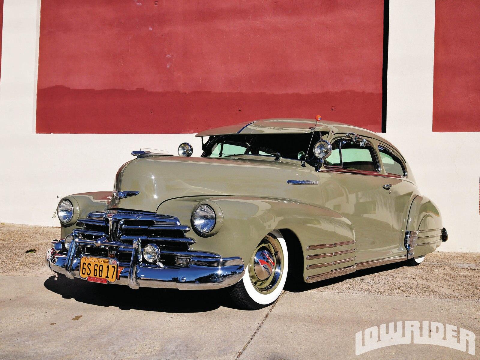 1948 Chevrolet Fleetline - Lowrider Magazine