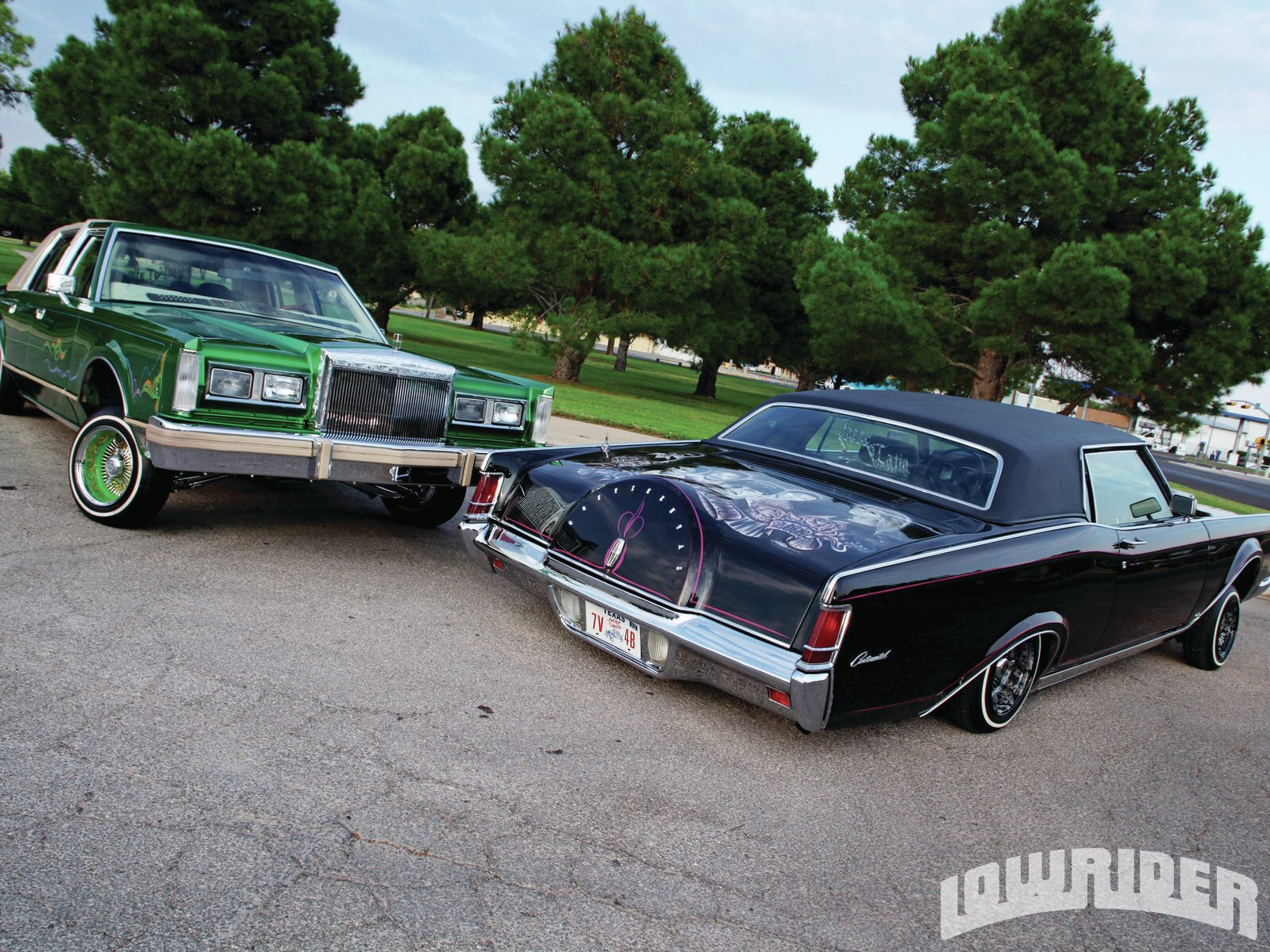 1969 Lincoln Mark Iii Amp 1981 Lincoln Town Car Lowrider