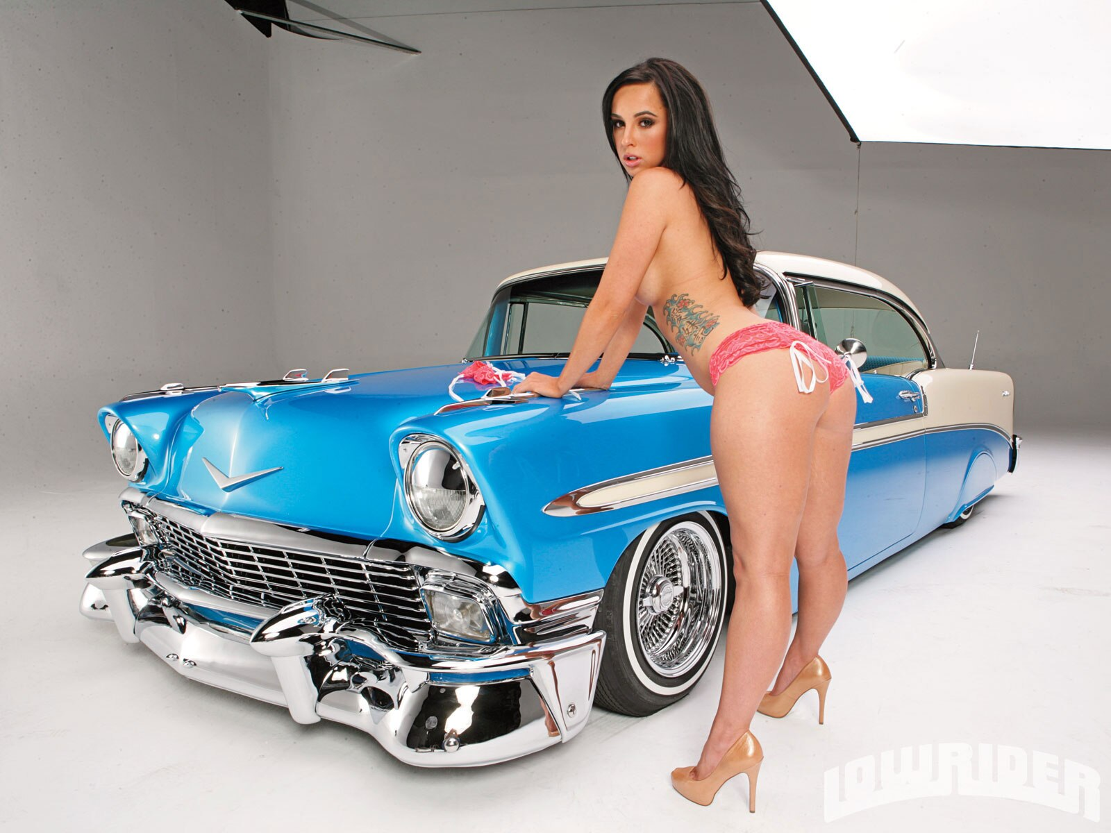 Remarkable, Cool lowriders with naked chicks pussy