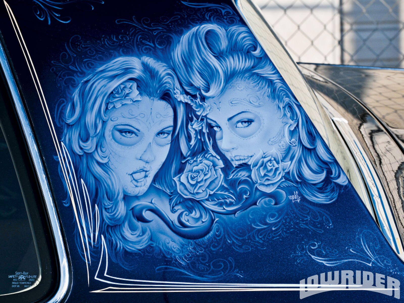 Lowrider Airbrush Art On Cars Www Pixshark Com Images