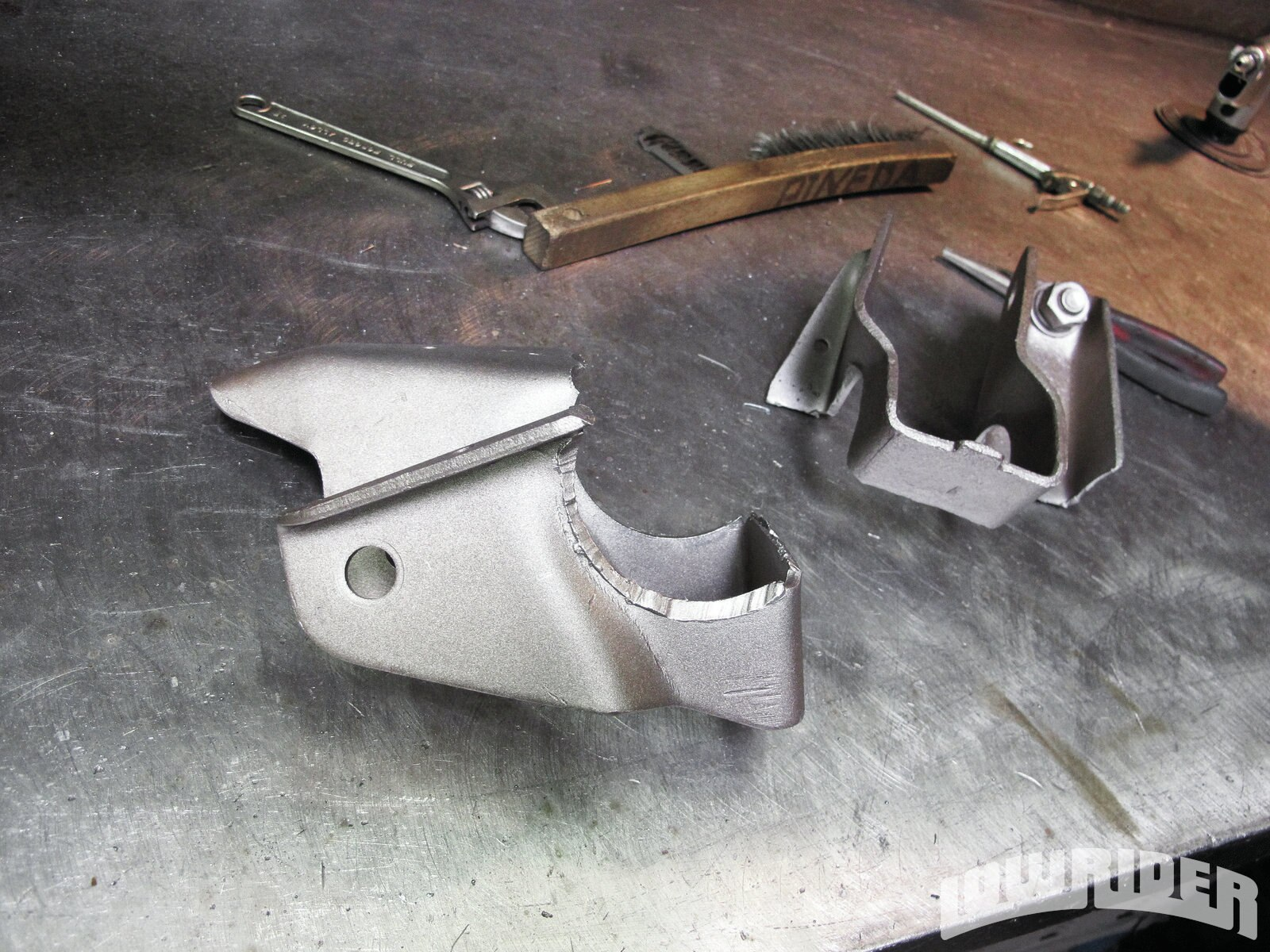 how to clean rear end housing