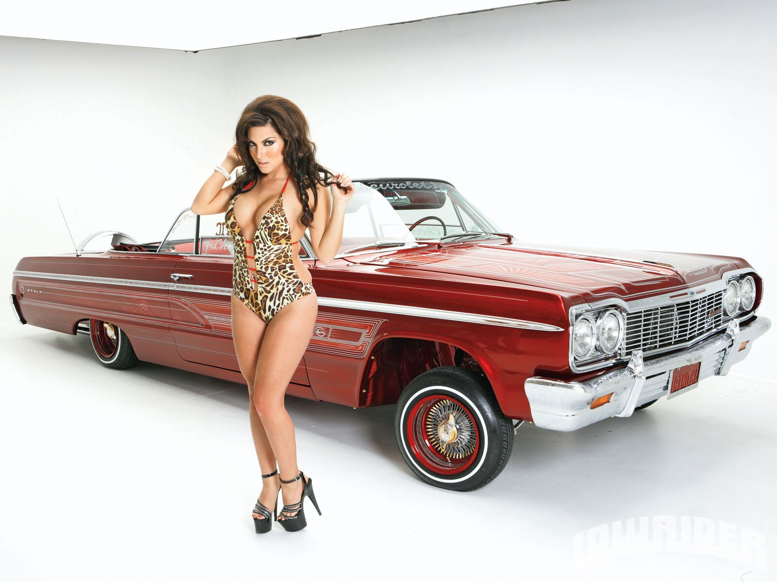 Mary Cherry Lowrider Girls Model Lowrider Girls Magazine