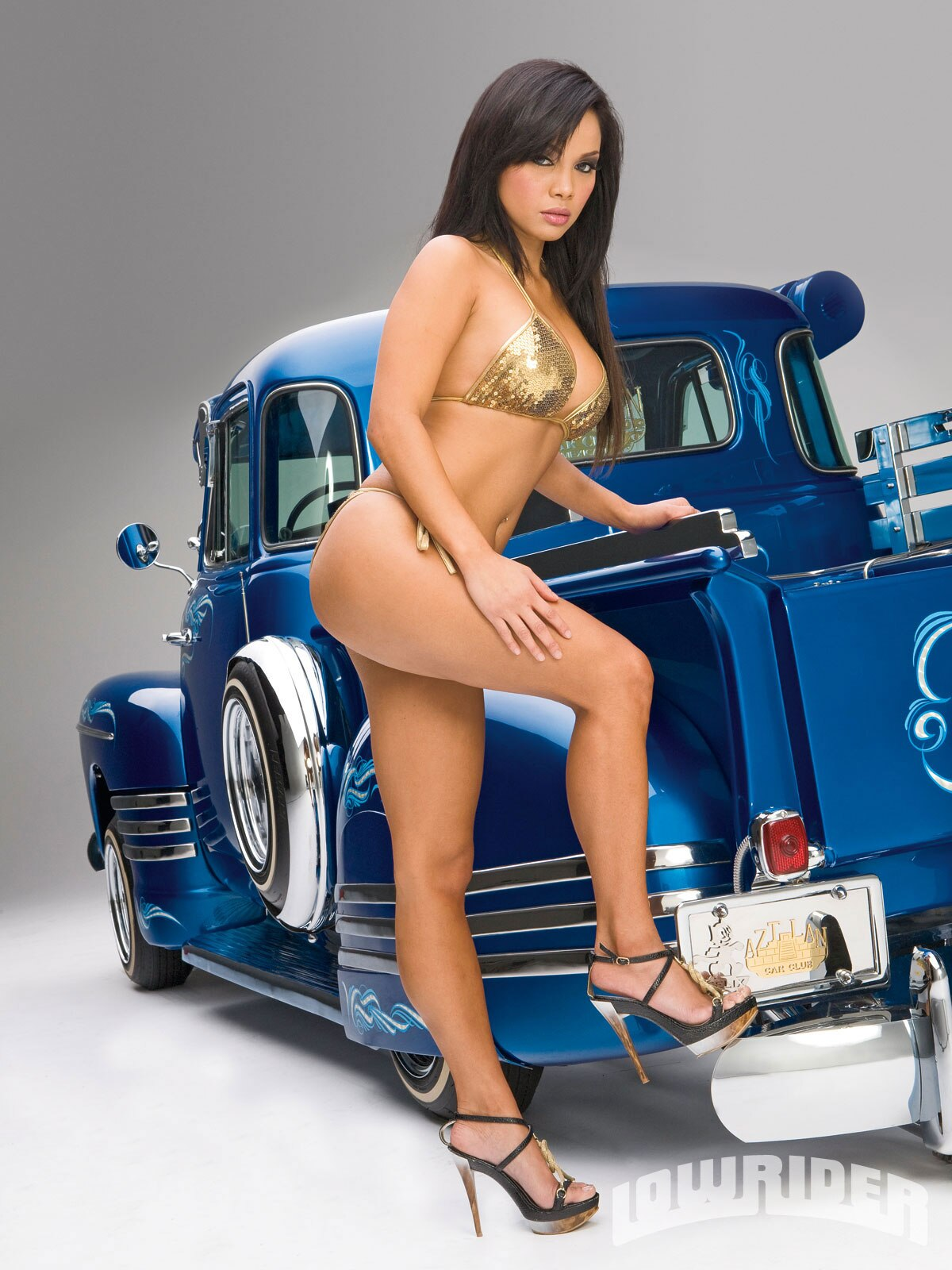 Dawn jaro lowrider girls model lowrider girls magazine for Living with models