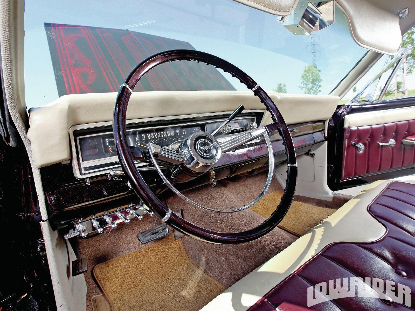 1966 Ford Fairlane Steering Wheel