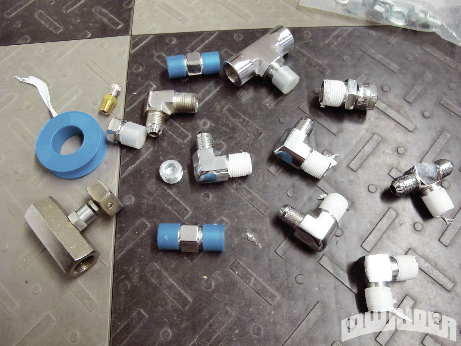 how to set up hydraulic handbrake
