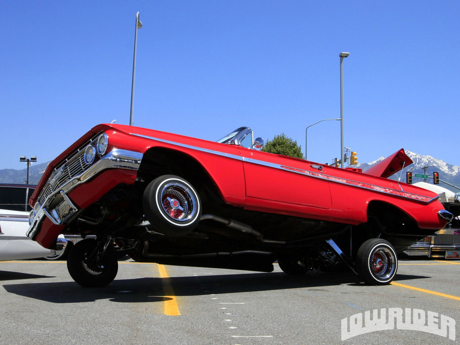 Cars With Hydraulics: Victor's Tires 5th Annual Car Show